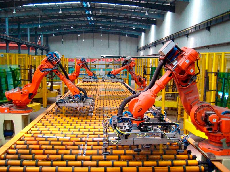 Automação de máquinas industriais