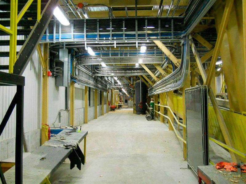 Empresas de montagem elétrica industrial
