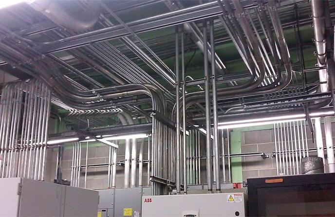 Montagem de instalações elétricas